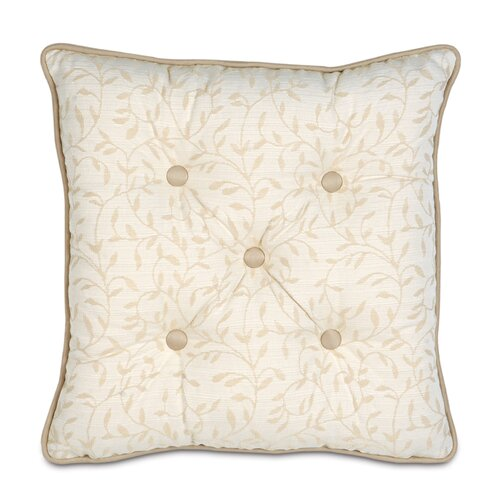Eastern Accents Brookfield Polyester Hayes Blossom Tufted Decorative Pillow