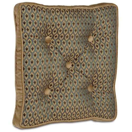 Chapman Polyester Danville Sea Tufted Decorative Pillow
