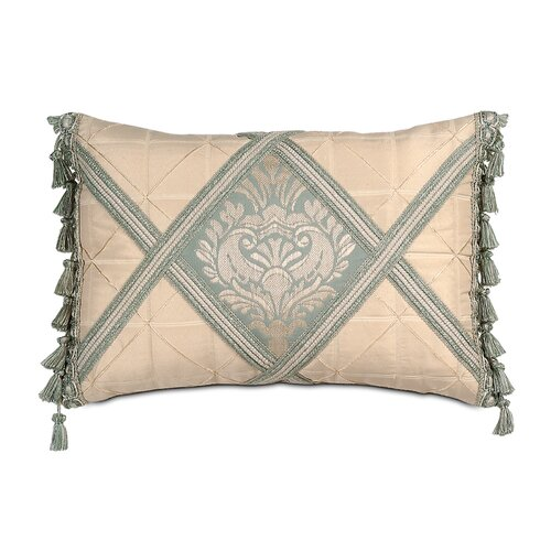 Eastern Accents Carlyle Polyester Diamond Insert Decorative Pillow