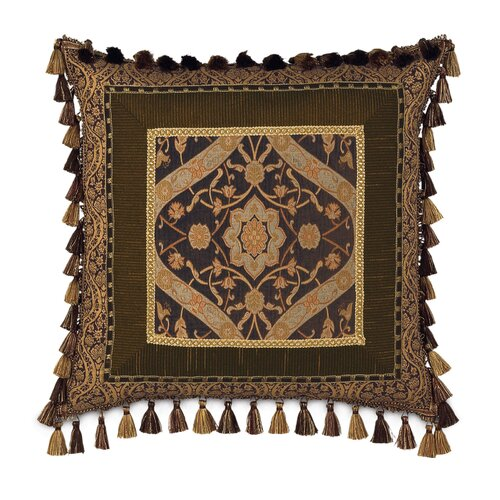 Eastern Accents Garnier Border Collage Decorative Pillow