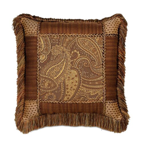 Eastern Accents Gershwin Collage Fringe Decorative Pillow