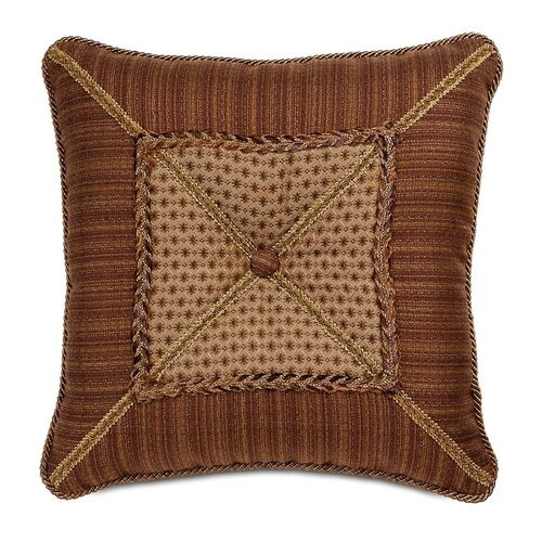 Gershwin Devina Mitered and Tufted Decorative Pillow