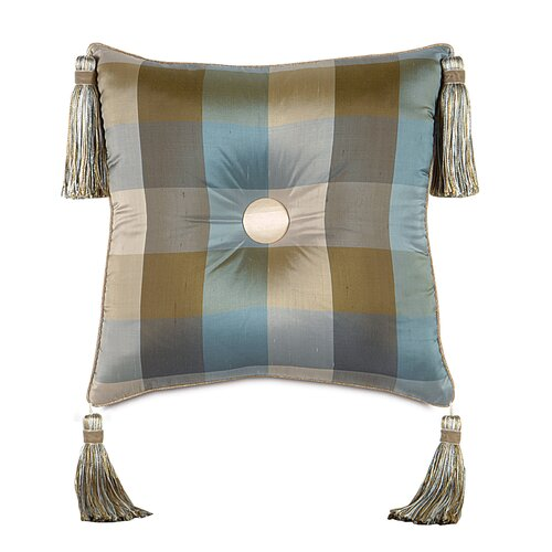 Eastern Accents Kinsey Beckford Sky Tufted Decorative Pillow