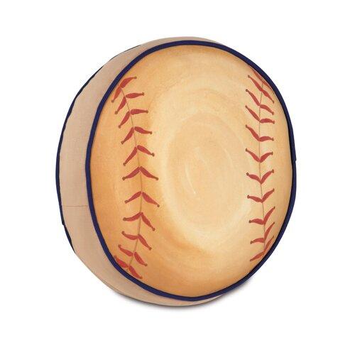 Eastern Accents Pinkerton Eli Polyester Baseball Decorative Pillow