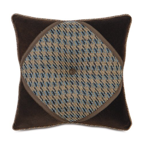 Eastern Accents Powell Polyester Garrett Diamond Tufted Decorative Pillow