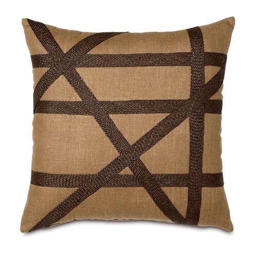 Eastern Accents Shamwari Polyester Breeze Decorative Pillow with Gimp