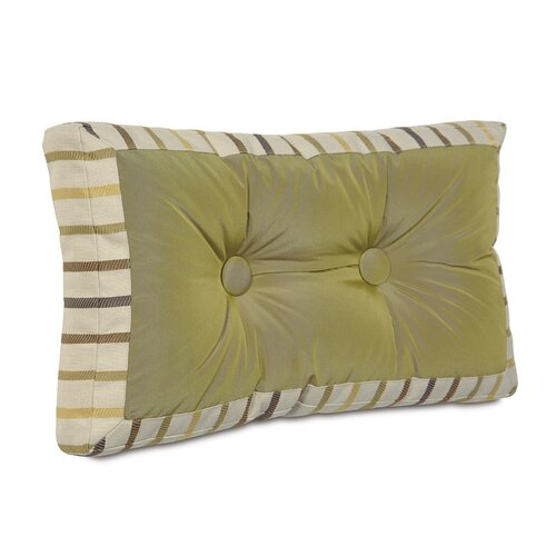 Caldwell Polyester Freda Mitered and Tufted Decorative Pillow