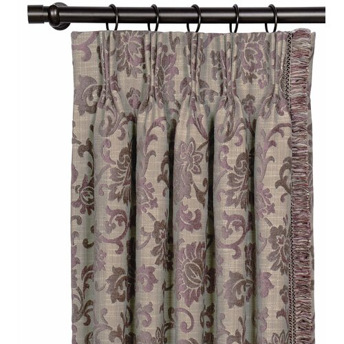 Eastern Accents Mica Three-finger Curtain Single Panel