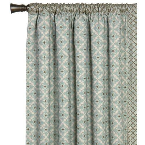Eastern Accents Avila Arlo Ice Curtain Single Panel