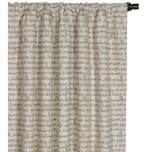 Eastern Accents Daphne Grenoble Cotton Rod Pocket Curtain Single Panel