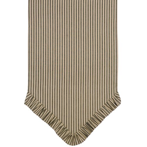 Heirloom Ticking Stripe Table Runner