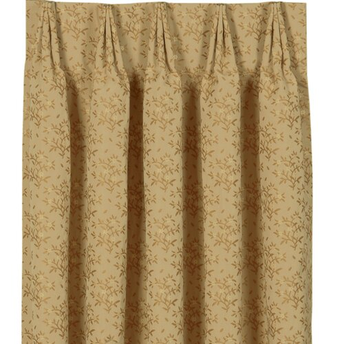 Eastern Accents Gabrielle Pleat Edora Curtain Single Panel
