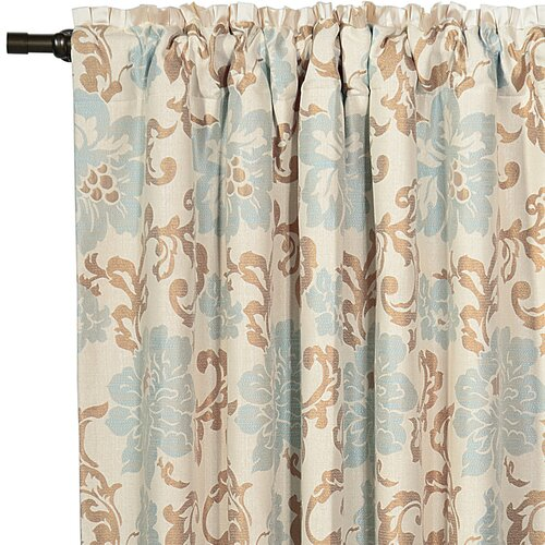 Eastern Accents Kinsey Rod Pocket Curtain Single Panel