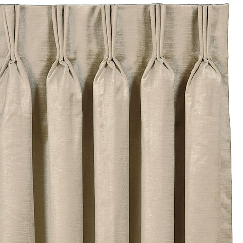 Eastern Accents Lucerne Three Finger Pleated Curtain Single Panel