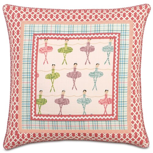 Eastern Accents Matilda Polyester Border Collage Decorative Pillow