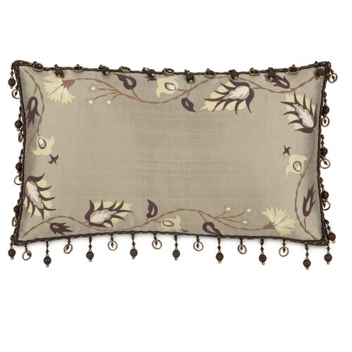 Michon Serico Polyester Hand-Painted Decorative Pillow