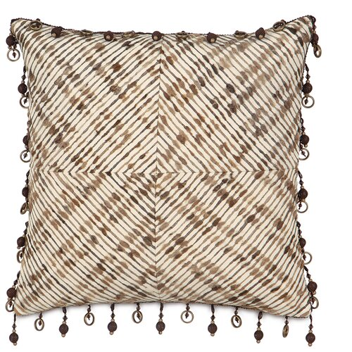 Michon Belin Polyester Decorative Pillow with Ball Trim