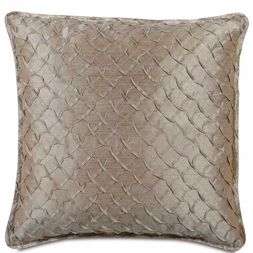 Eastern Accents Mica Polyester Decorative Pillow with Mini Flange