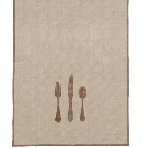 Rustique Burlap Table Runner