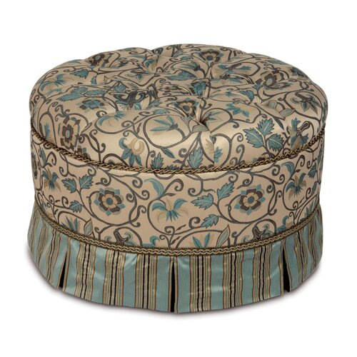 Eastern Accents Chapman Ottoman
