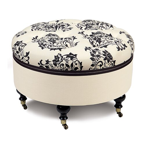 Eastern Accents Evelyn Ottoman