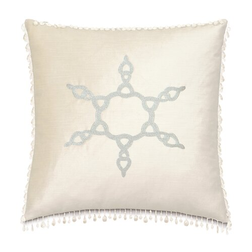 Deck The Halls Snowflake Decorative Pillow