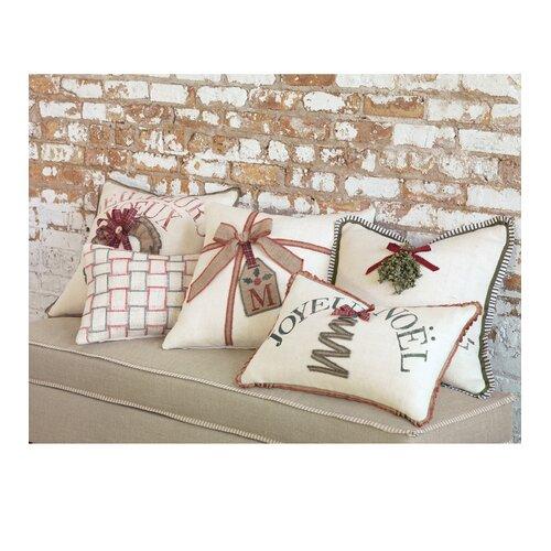 Eastern Accents Joyeaux Noel Embrasse-Moi Decorative Pillow