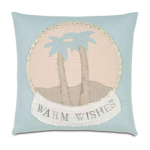 Eastern Accents Coastal Tidings Warm Wishes Decorative Pillow