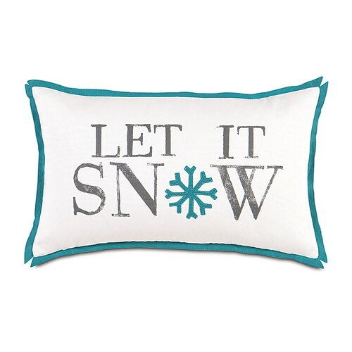 North Pole Snow Day Decorative Pillow