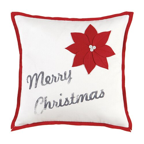 North Pole Christmas Cheer Decorative Pillow
