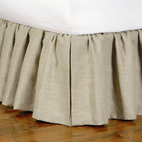 Heirloom Ticking Stripe Ruffled Bed Skirt