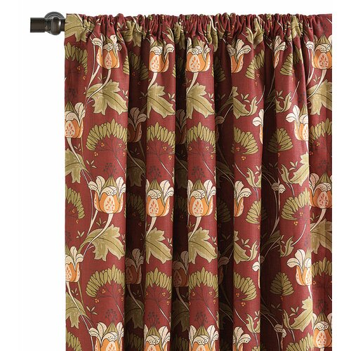 Eastern Accents Sullivan Linen Rod Pocket Curtain Single Panel