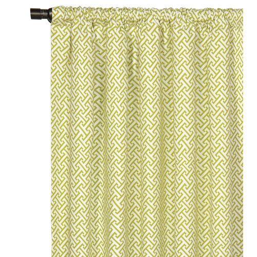 Eastern Accents Arcadia Rod Pocket Curtain Single Panel
