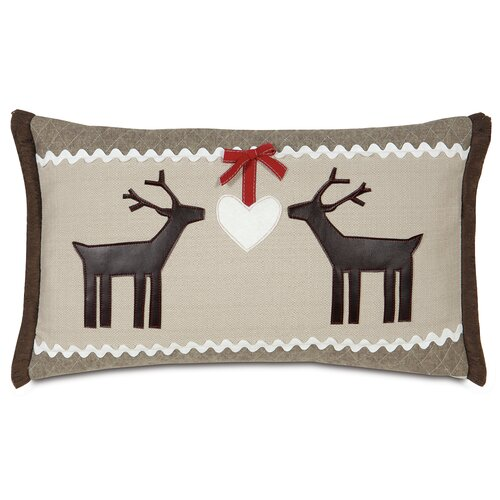 Eastern Accents Nordic Holiday Folk Love Pillow