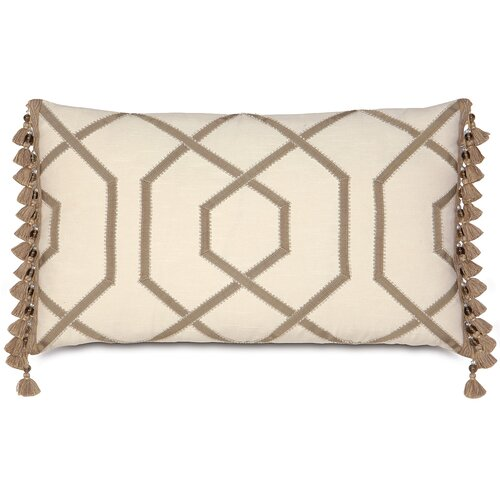 Rayland Polyester Witcoff Decorative Pillow with Ribbon Design