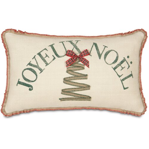 Joyeux Noel Decorative Pillow