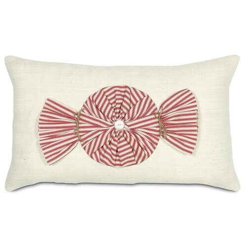 Eastern Accents Fa La La Peppermint Twist Pillow