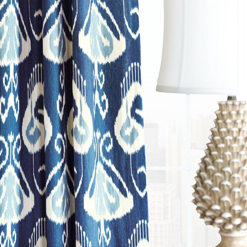 Eastern Accents Ceylon Cotton Rod Pocket Curtain Single Panel