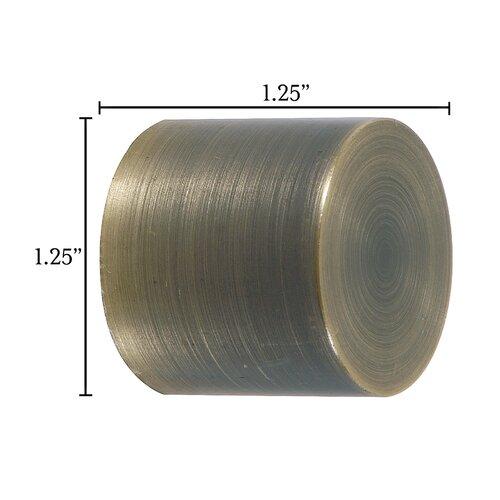 Eastern Accents Metallique Basic Curtain Cap