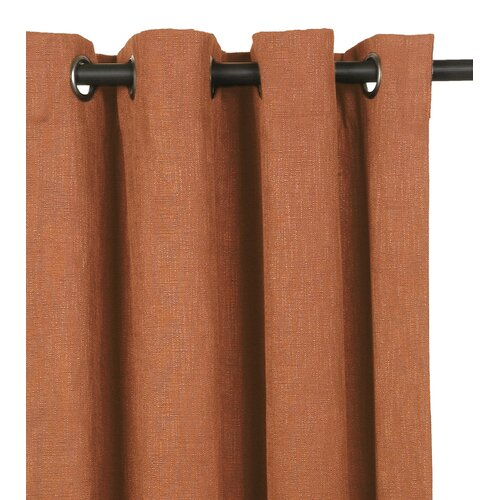 Eastern Accents Mondrian Drapery Rod Pocket Curtain Single Panel