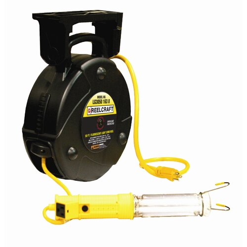 Reelcraft Fluorescent Light Cord Reel