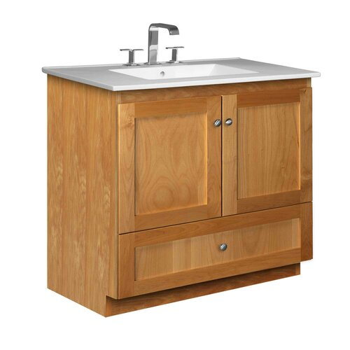 "Strasser Woodenworks Simplicity 37"" Bathroom Vanity Set"
