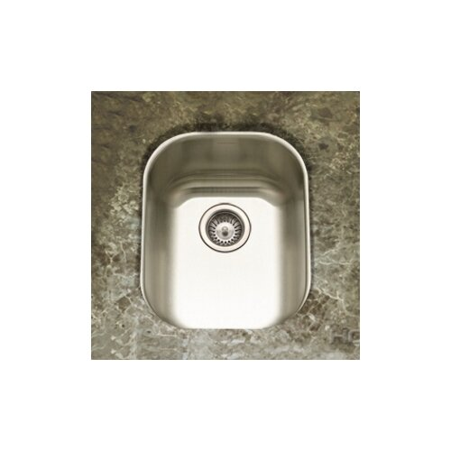"Houzer Club 18.5"" x 15"" Undermount Large Bar Sink"