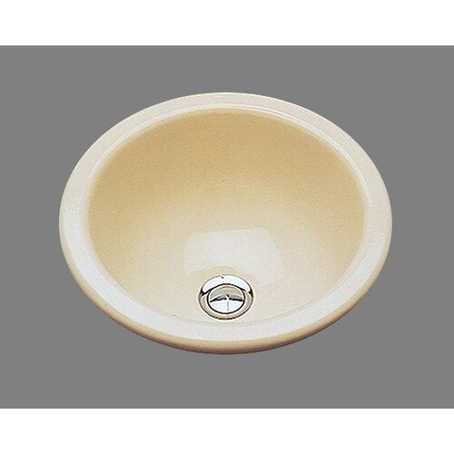 Bates & Bates Ceramics Donna Bathroom Sink with Overflow