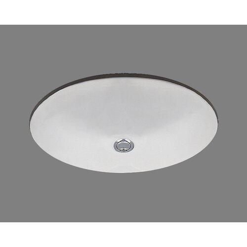 Ceramics Doreen Undermount Bathroom Sink with Overflow