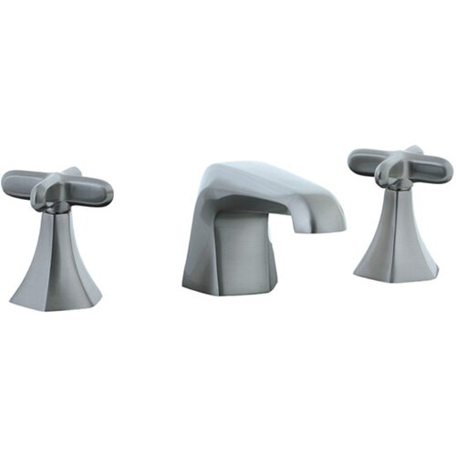 Cifial Hexa Widespread Bathroom Sink Faucet with Double Cross Handles
