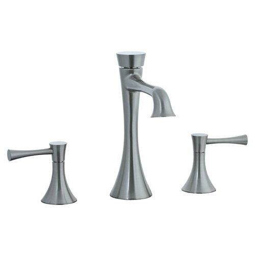 Brookhaven Widespread Bathroom Sink Faucet with Double Lever Handles