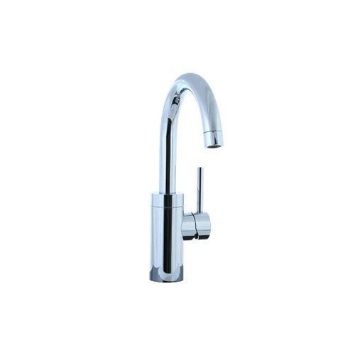 Techno Single Handle Single Hole Kitchen Faucet with Swivel Spout