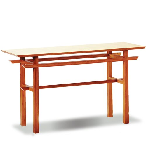 Greenington Lotus Console Bamboo Table