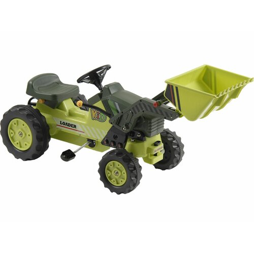Big Toys Kalee Pedal Tractor with Loader